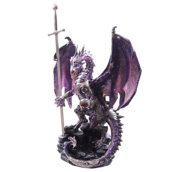 Dark Legends Dragon - Amethyst Oracle