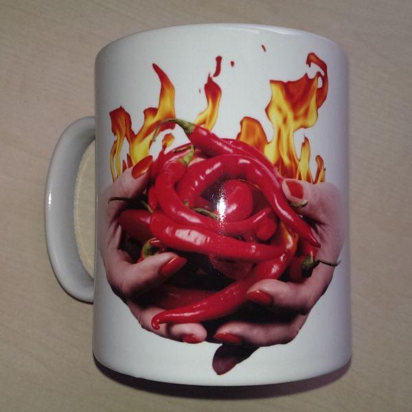 Foodshoots Flaming Hot Chillies - Unique Design Kitchen Mug