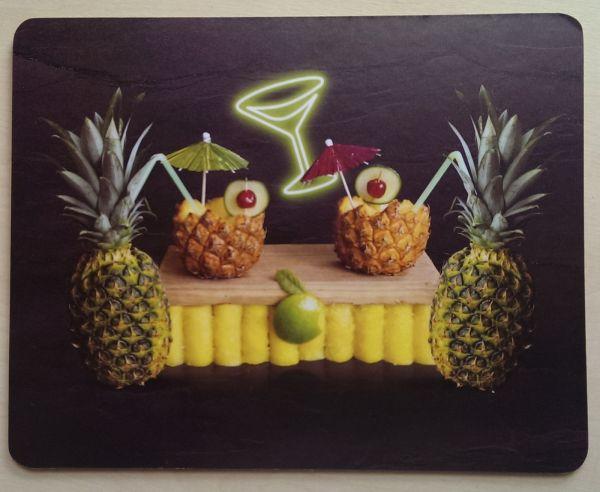 Foodshoots Pineapple Cocktails - Unique Design Tablemat
