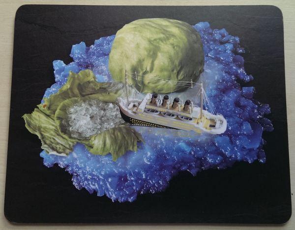 Foodshoots Titanic And The Iceburg Lettice - Unique Design Tablemat